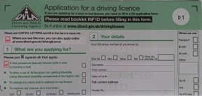 getting a provisional driving licence